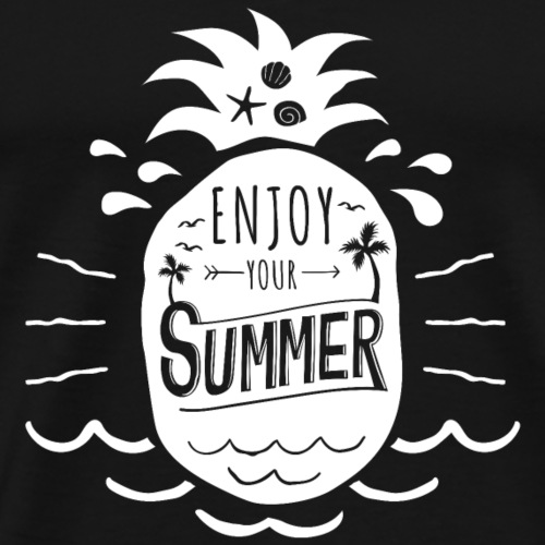 Enjoy your summer - Männer Premium T-Shirt