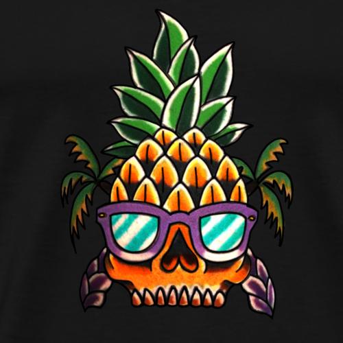Tropical Skull / Geschenkidee / Geschenk - Männer Premium T-Shirt