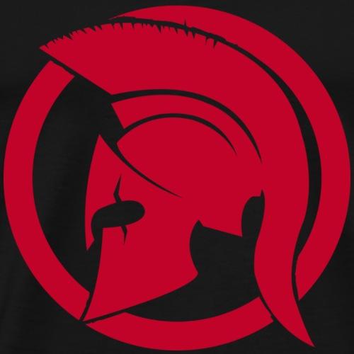 Spartan rouge - T-shirt Premium Homme