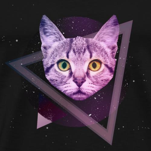 Space Katze - Männer Premium T-Shirt
