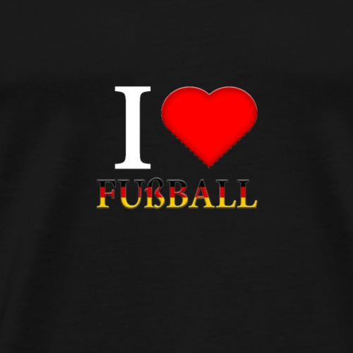 Fußball Deutschland Geschenk - Männer Premium T-Shirt