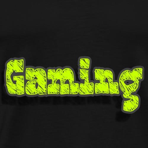 Schrift (Gamer) - Männer Premium T-Shirt