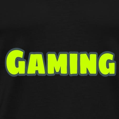 Schriftart (gamer) - Männer Premium T-Shirt