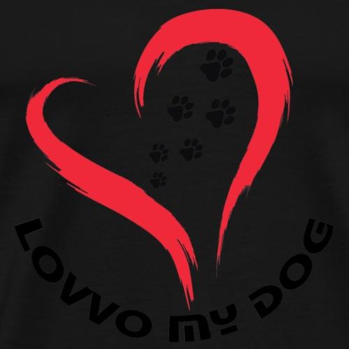 Lovvo my dog - Maglietta Premium da uomo