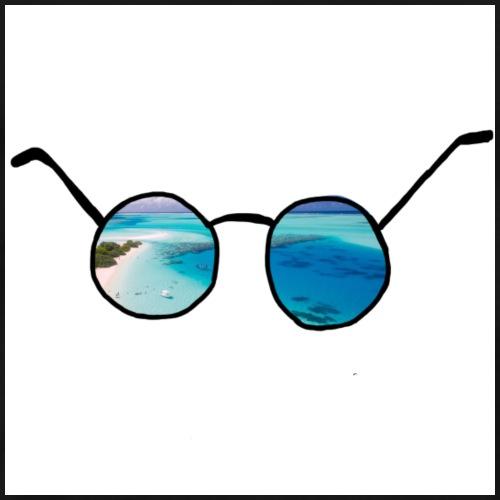 Sonnenbrille - Männer Premium T-Shirt