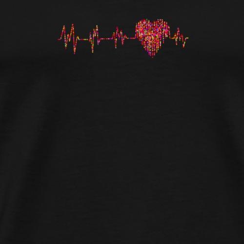 Coeur - T-shirt Premium Homme