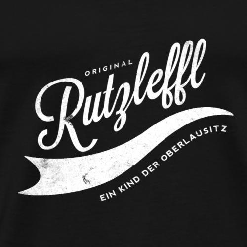 Rutzleffl - Oberlausitz Fanshirt - Männer Premium T-Shirt