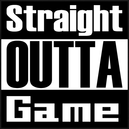 Straight OUTTA Game - Männer Premium T-Shirt