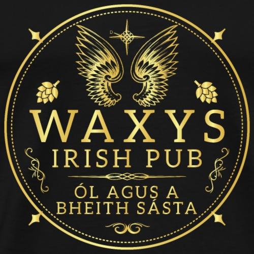 Waxys Brand 1 - Men's Premium T-Shirt