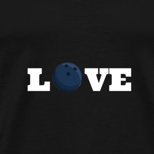 Love bowling 2 - T-shirt Premium Homme