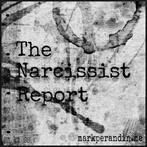 the narcissist report logo - Men's Premium T-Shirt