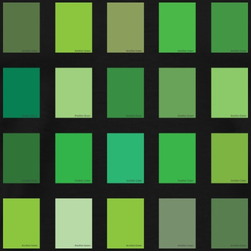 Another Green Color Picker - Men's Premium T-Shirt
