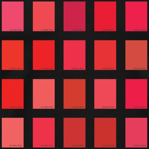 Another Red Color Picker - Men's Premium T-Shirt