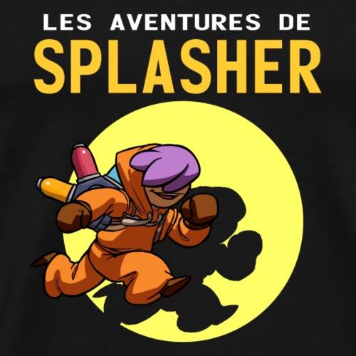Les Aventures de Splasher - T-shirt Premium Homme