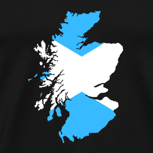 Scotland Double Exposure - Men's Premium T-Shirt