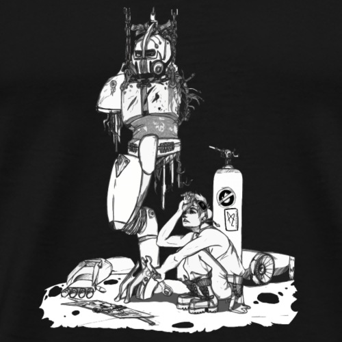Armure assistée - T-shirt Premium Homme