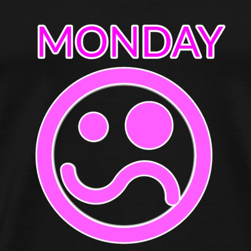 monday Smile - Männer Premium T-Shirt