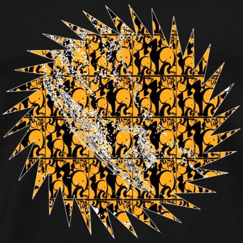 TET 0004 - Camiseta premium hombre