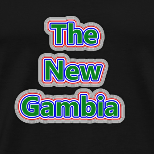 The Nwe Gambia - Men's Premium T-Shirt