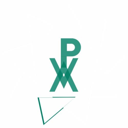 P.V.A. STELLA A 9 PUNTE VERDE ACQUA (AC) - Maglietta Premium da uomo
