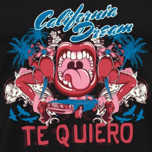 Te Quiero California Dream - Männer Premium T-Shirt
