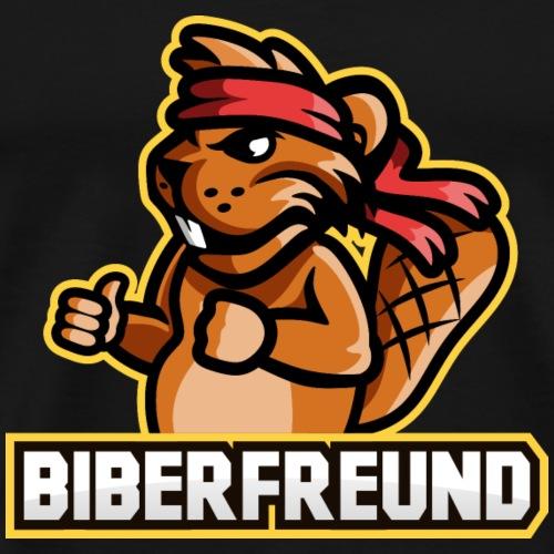 biberfreund mascot - Männer Premium T-Shirt