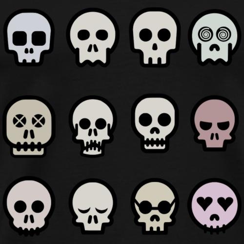 Skull-o-matic - Männer Premium T-Shirt