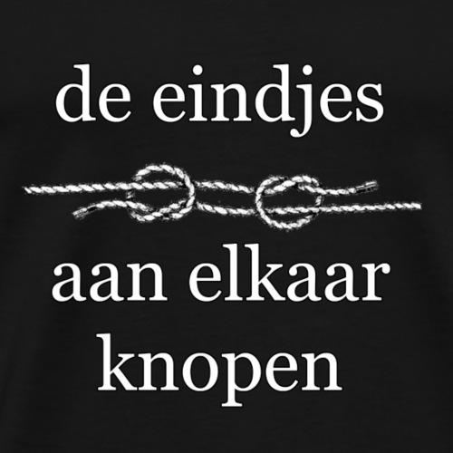 eindjes knopen - Mannen Premium T-shirt