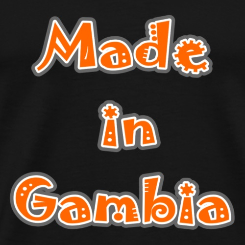 Made in Gambia - Men's Premium T-Shirt
