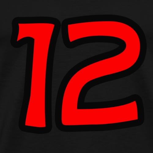 12. Mann - Männer Premium T-Shirt