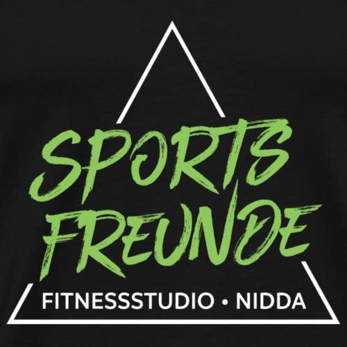 Sportsfreunde_weiß_grün - Männer Premium T-Shirt