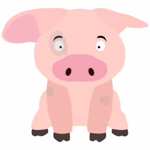 Schwein mit Flecken - Männer Premium T-Shirt