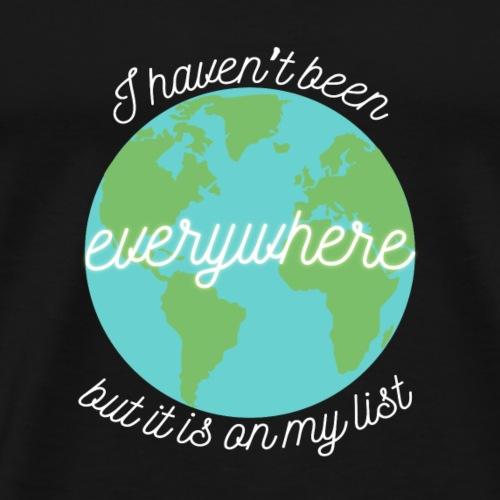 Travel the World - Premium-T-shirt herr