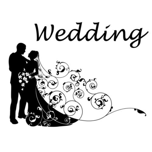 wedding - T-shirt Premium Homme