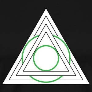 TRIANGLE - Herre premium T-shirt