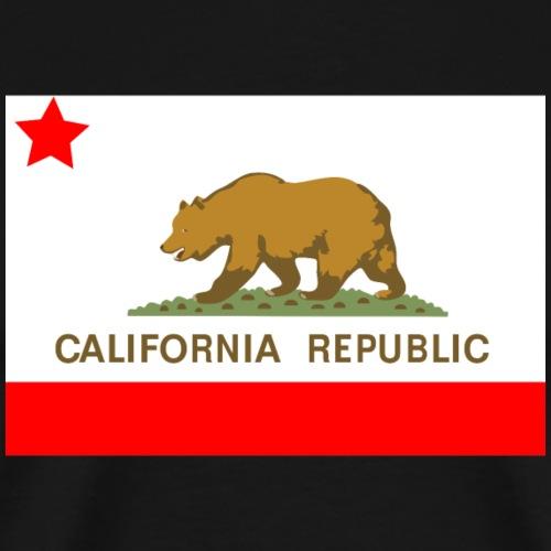 California Republic - T-shirt Premium Homme
