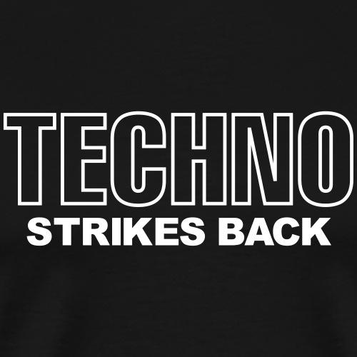 Techno strikes back - Men's Premium T-Shirt