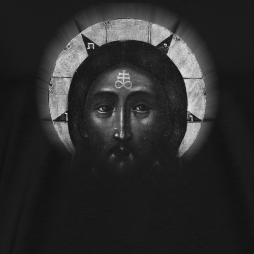 Christ of Hell - T-shirt Premium Homme