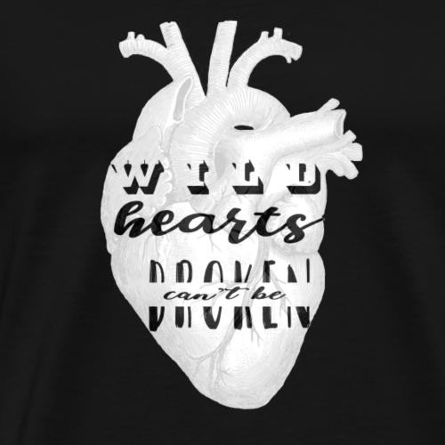 Wild hearts - Maglietta Premium da uomo