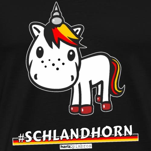 HARIZ.PIXBROS #Schlandhorn - Männer Premium T-Shirt