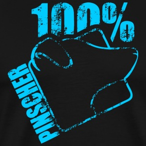 Pinscher 100 - Premium T-skjorte for menn