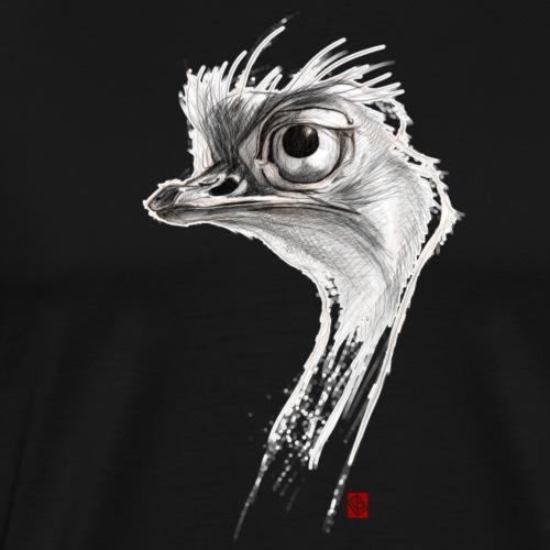 Sketchy Autruche - T-shirt Premium Homme