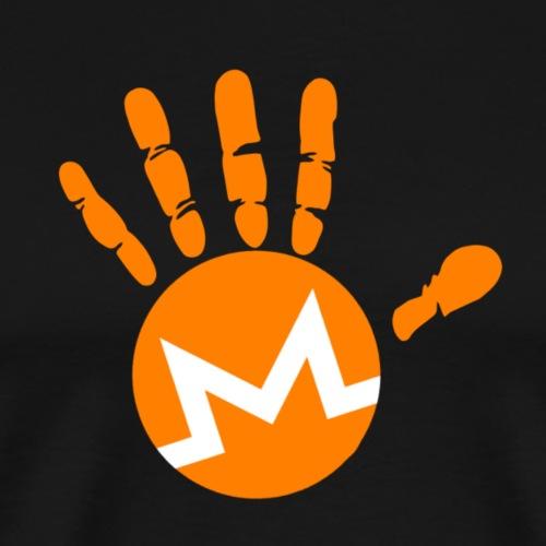 Monero Hodl Hand - Men's Premium T-Shirt