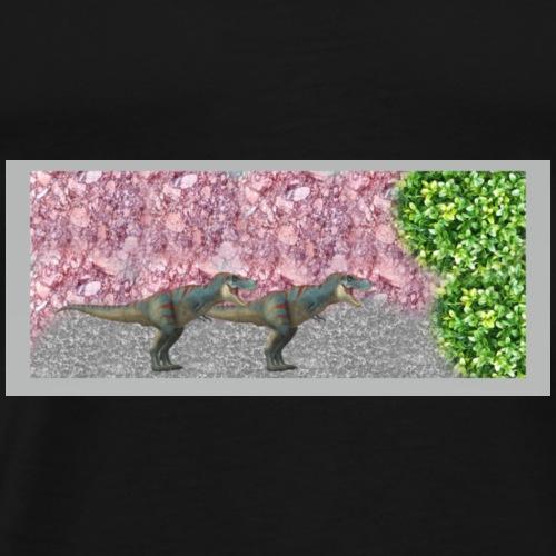 Dino Design Super Geschenk für Kinder - Männer Premium T-Shirt