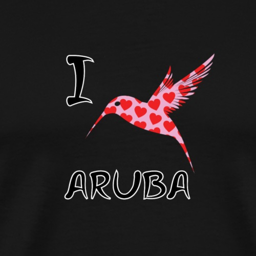 I Love Aruba - Men's Premium T-Shirt