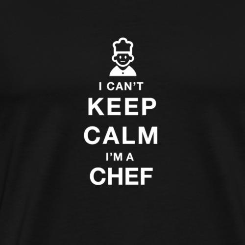 Ich kann nicht ruhig bleiben, - Männer Premium T-Shirt