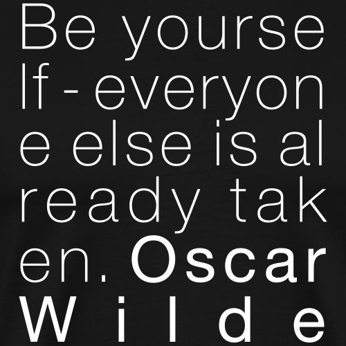 Oscar Wilde - Männer Premium T-Shirt