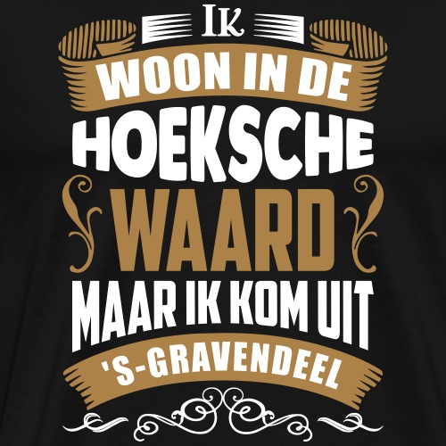 's-Gravendeel - Mannen Premium T-shirt