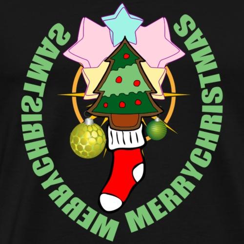 MERRY CHRISTMAS - Männer Premium T-Shirt