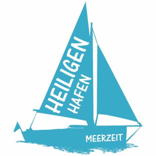 Heiligenhafen Meerzeit Blau - Männer Premium T-Shirt